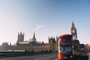 イギリスロンドンの風景