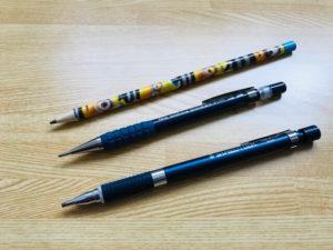 マーク速度比較用シャープペン